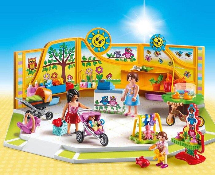 Playmobil 摩比 CITY 購物趣 9079 嬰兒用品店 【鯊玩具Toy Shark】