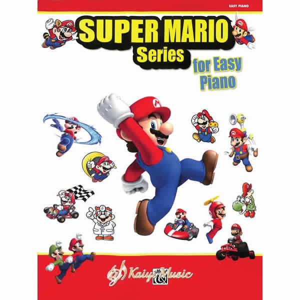 電玩超級瑪莉歐鋼琴譜(初級) Super Mario Series for Easy Piano【Kaiyi】