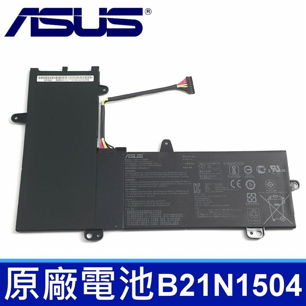 asus b21n1504 原廠電池 c21n1504 asus tp200sa tp200s e2