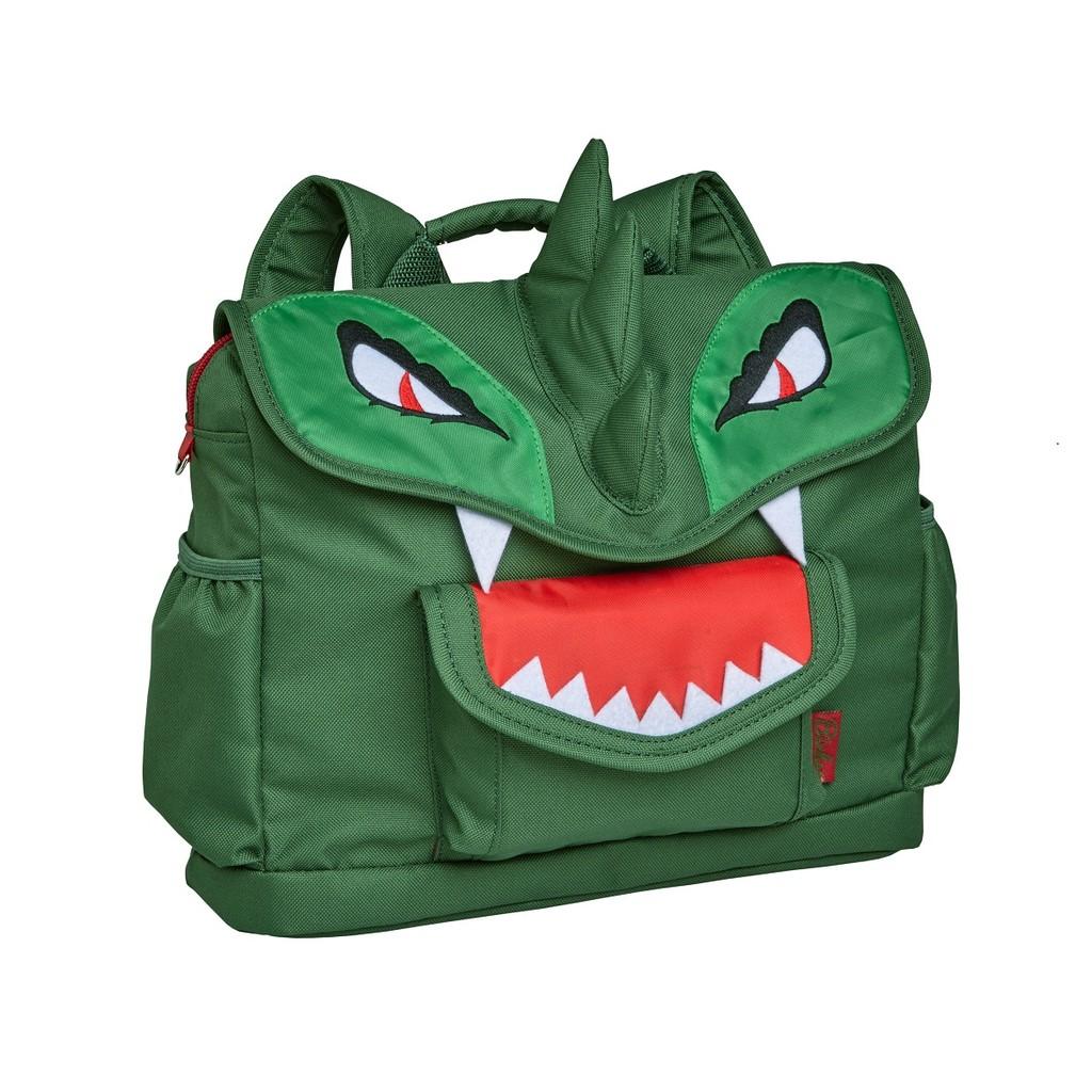 美國Bixbee - 3D動物童趣系列-英勇綠恐龍小童背包