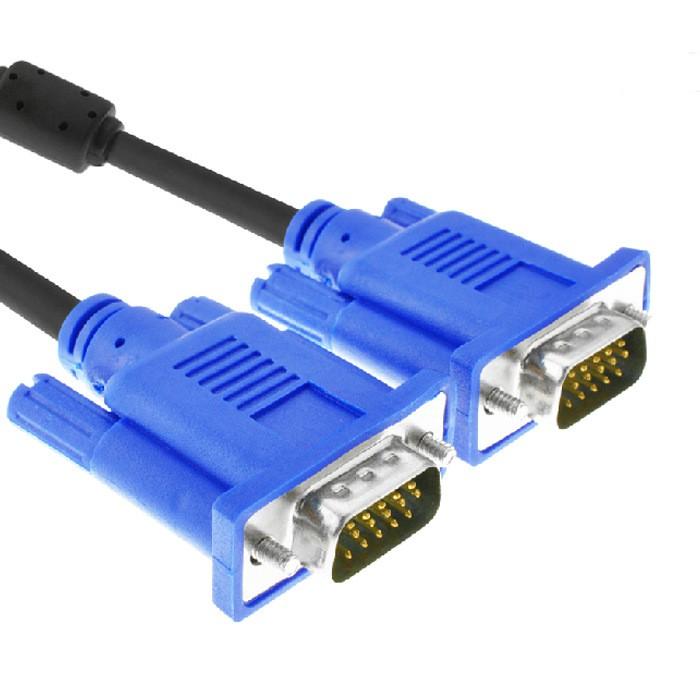 Anmite VGA線15針公對公螢幕線 電視投影儀高清連接線 1.5米 3米 VGA D-SUB