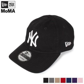 NEW ERA ニューエラ キャップ 帽子 ニューヨーク ヤンキース MoMA モマ メンズ レディース コラボ NY YANKEES 9TWENTY ブラック 300012-300011 [4/24 新入荷]