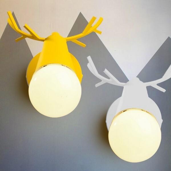 18park-小迷路壁燈(v1)-多色 [粉紅,全電壓]