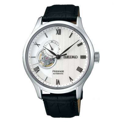 SEIKO Presage羅馬開芯機械腕錶 SSA379J1