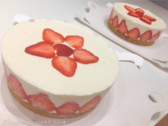 【甜野新星-甜點專賣店】母親節蛋糕 生日蛋糕 〈生酮〉草莓生乳酪蛋糕 6吋