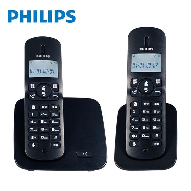 PHILIPS飛利浦 2.4GHz數位無線電話 DCTG1862 免運