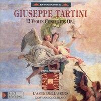 流浪小提琴家塔替尼:小提琴協奏曲全集1 Tartini: The Violin Concertos Volume 1 (3CD)【Dynamic】