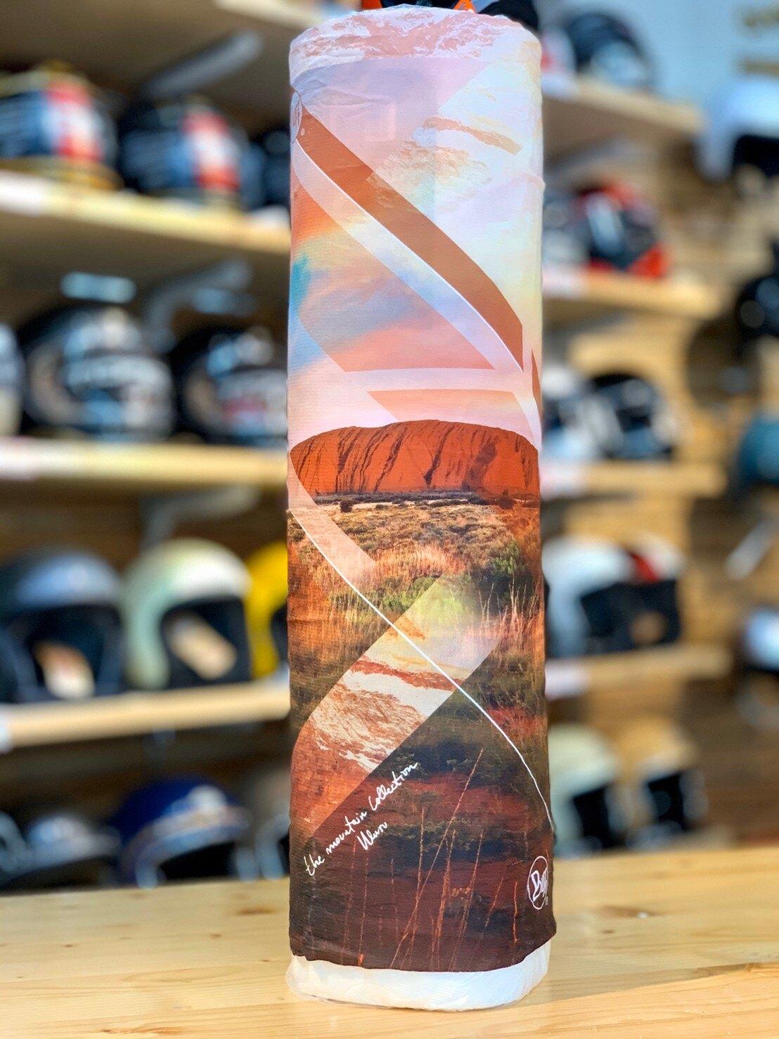 任我行騎士部品 西班牙 Buff 山岳系列-澳洲艾爾斯岩 coolnet 抗UV 頭巾 防曬 魔術頭巾