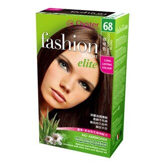 [Oyster歐絲特] 植物性染髮劑--68號(咖啡色)Dark Tobacco Blond