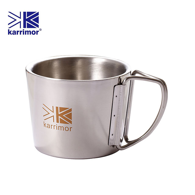 英國Karrimor 304不鏽鋼隨手杯350ml一入KA-M350 免運