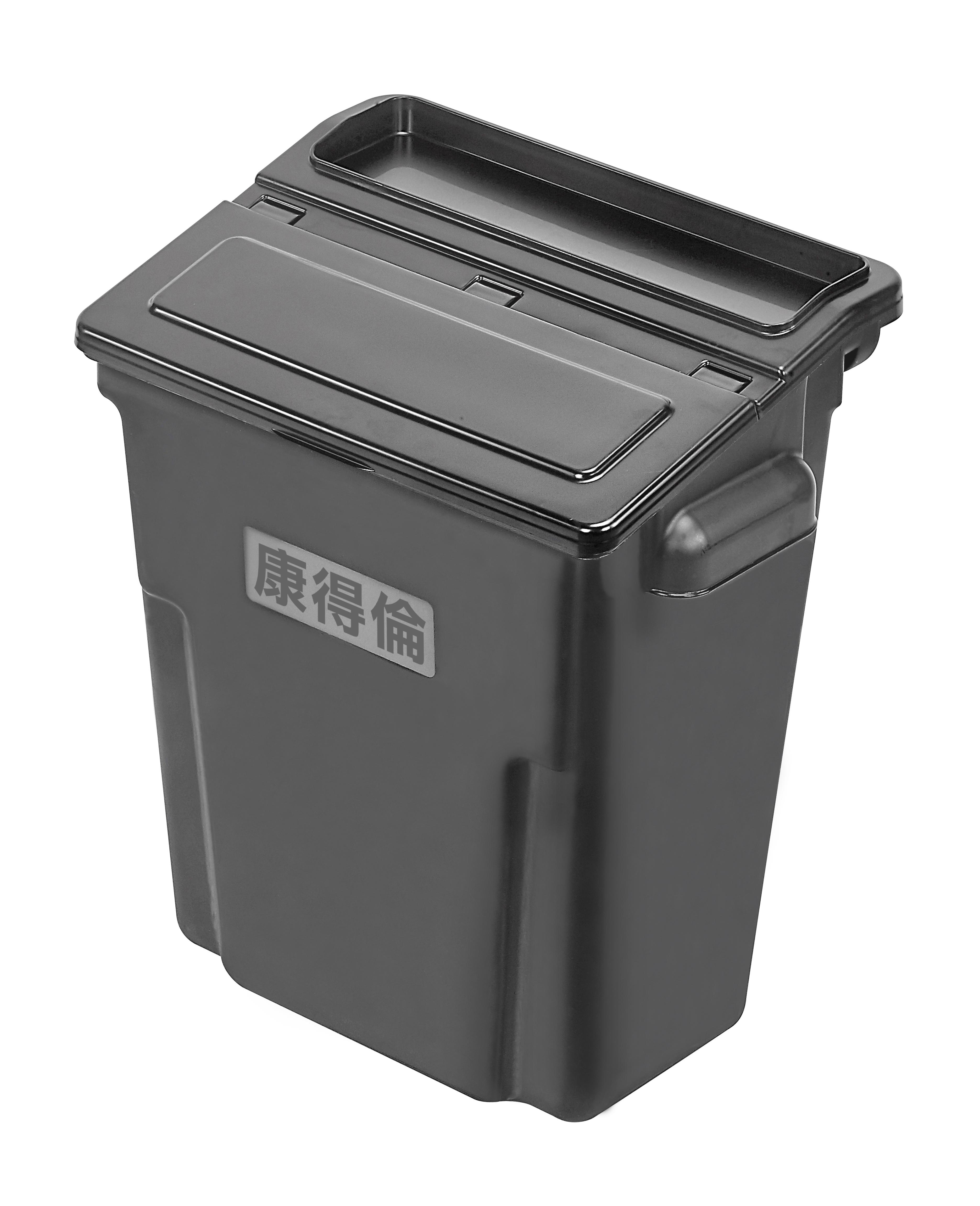 新版-推車配件(加蓋中掛桶)KT-508USC 工作推車 房務車 餐飲清潔車 方便清潔 抗菌易清洗