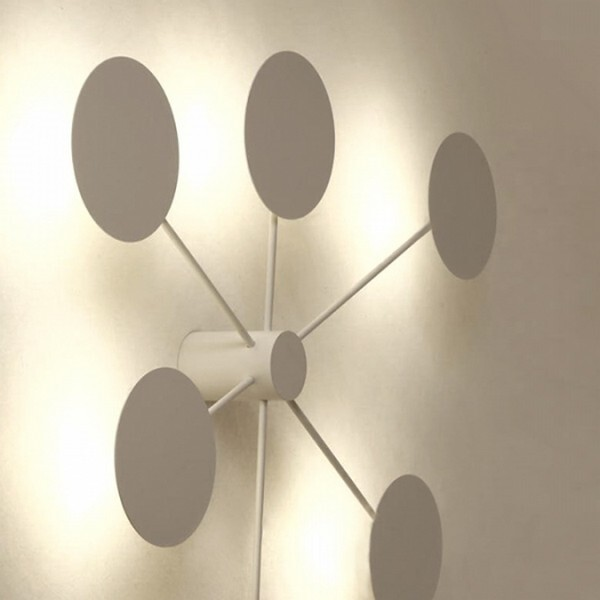 18park-目眩壁燈-二燈 [霧白,全電壓]