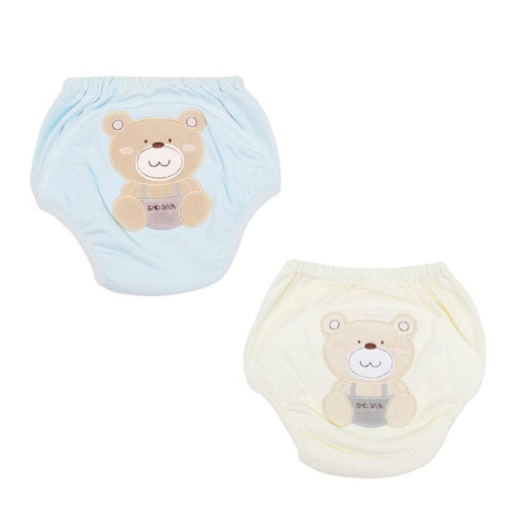 台灣 GMPBABY 大熊超吸排棉學習褲(2色可選)