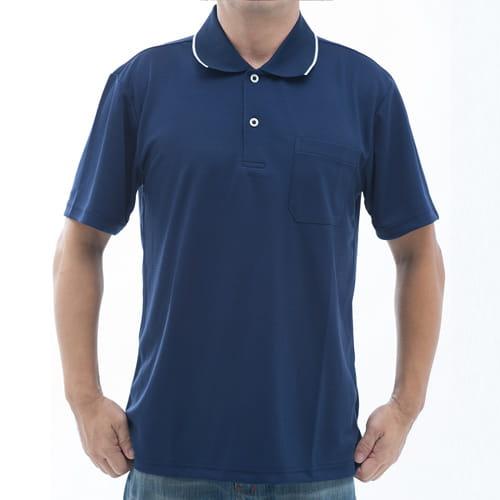 SAIN SOU 聖手牌 台灣製吸濕排汗速乾短袖POLO衫 T26536-02