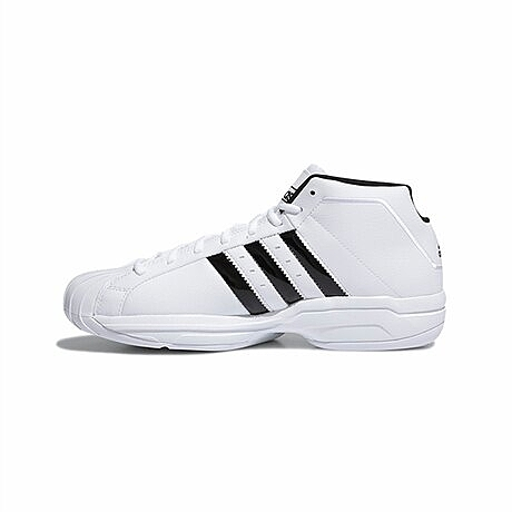 ADIDAS愛迪達  Pro Model 2G 運動男鞋 白黑 FW4344