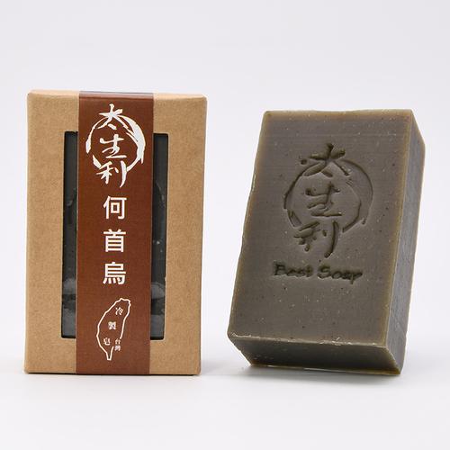【太生利】何首烏洗頭皂-台灣冷製手工皂