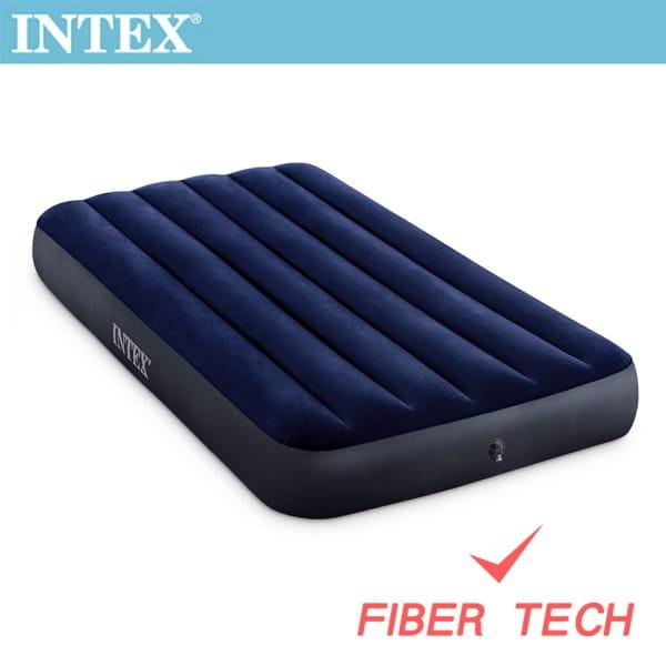 INTEX 經典單人加大充氣床墊 寬99cm 64757