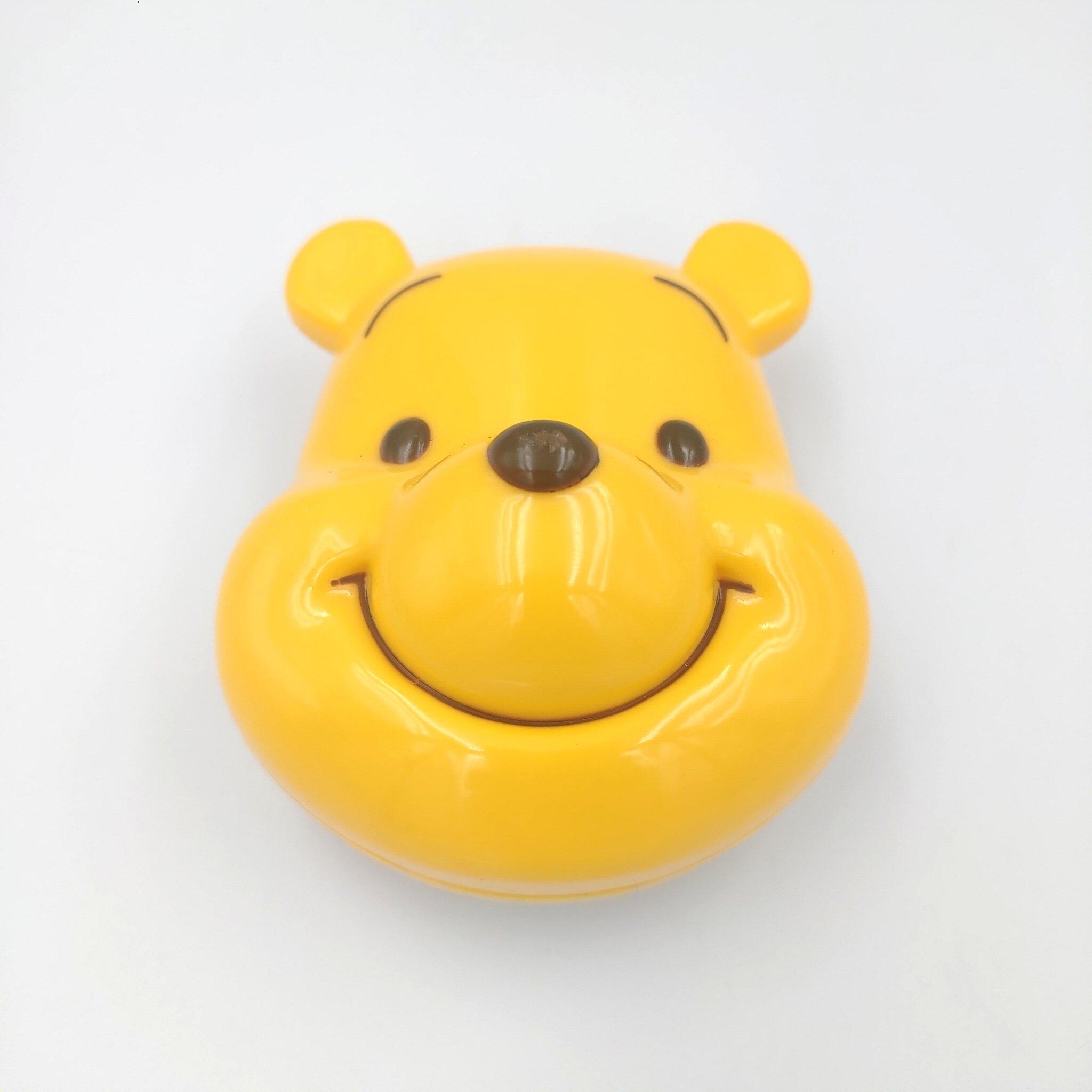 【積文館】造型隨身梳 日本進口 小熊維尼 Winnie Pooh 梳子(7.5*6.5cm)