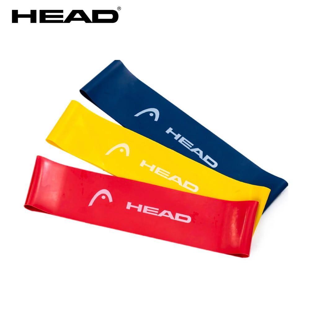 HEAD加寬版環狀彈力帶-3入磅數9/14/18kg
