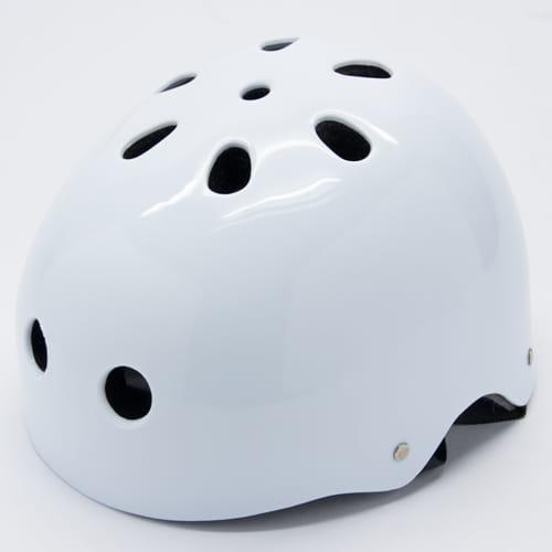 DLD多輪多 專業直排輪安全帽 溜冰鞋 商檢合格安全頭盔 白