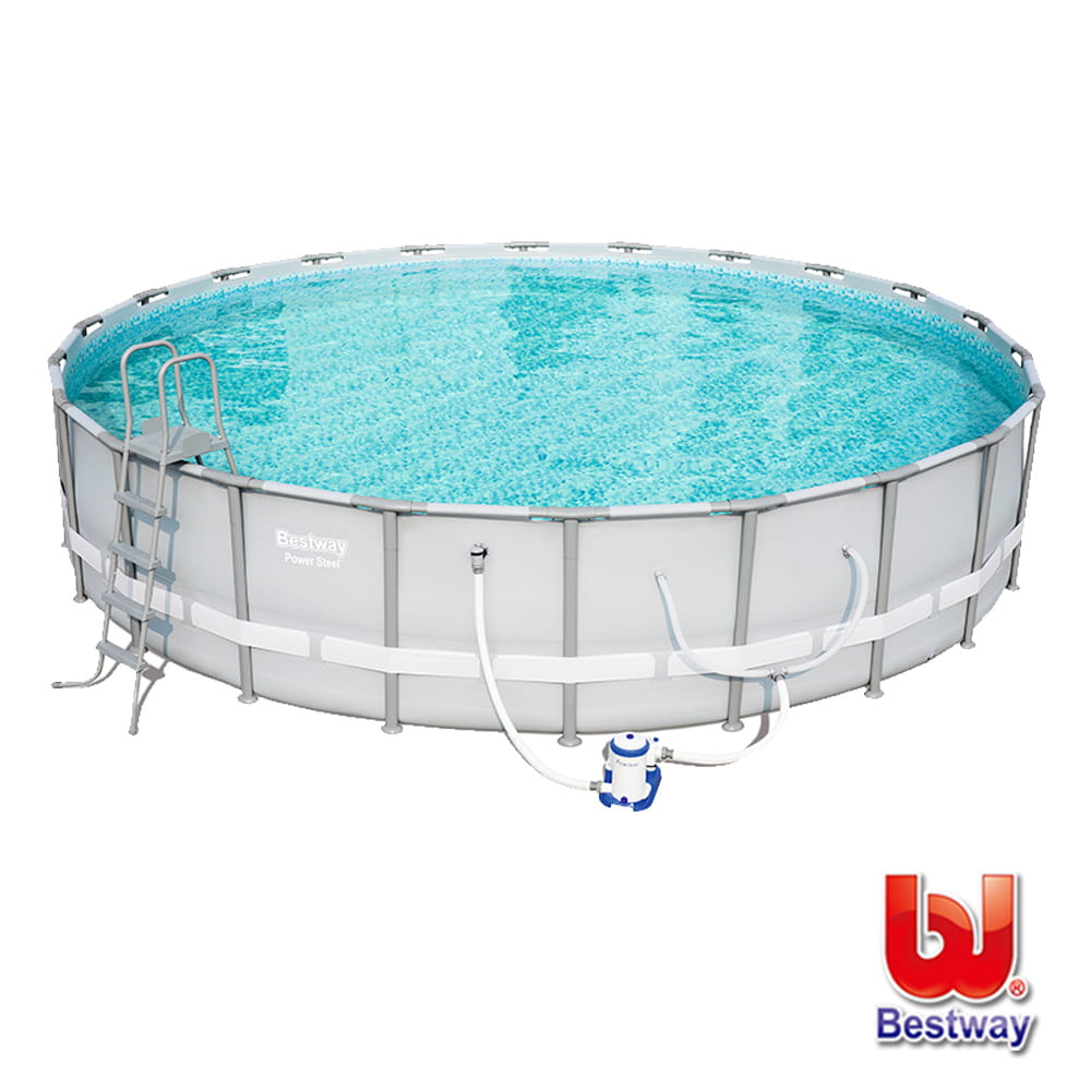 King size 帝王級圓形框架泳池