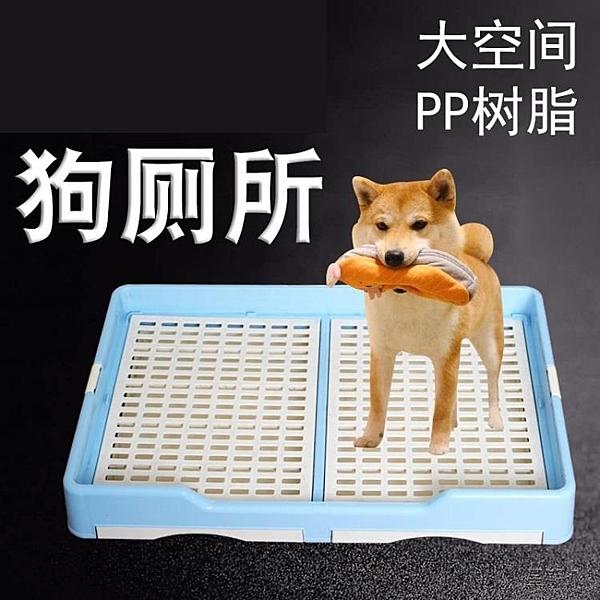 狗狗廁所 防漏抽屜廁所大型犬金毛狗廁所大號狗狗平板式小型犬帶網格
