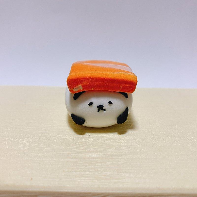 壽司熊貓三文魚