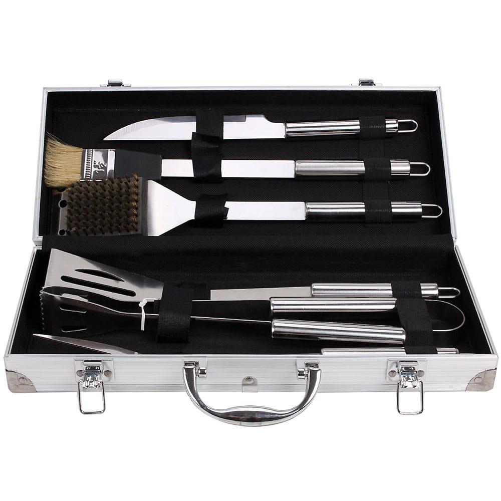 不鏽鋼燒烤工具6件組
