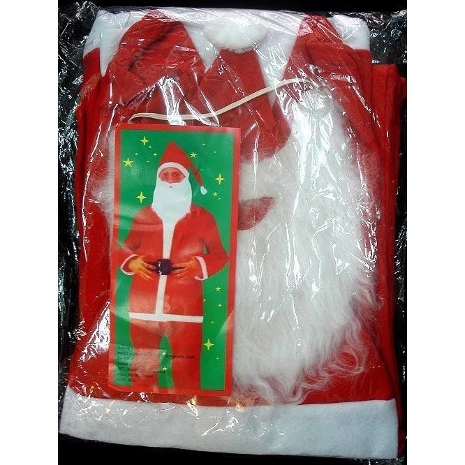 派對達人聖誕服飾,聖誕節裝扮,聖誕服裝,/大人變裝服-不織布聖誕老公公五件組