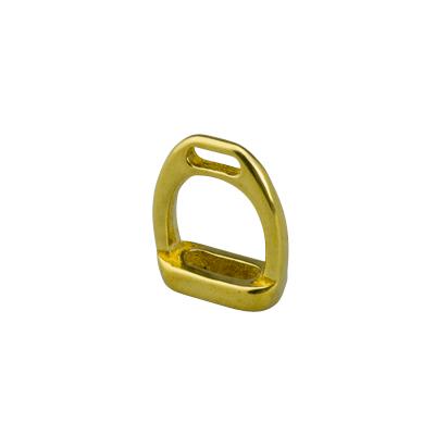 IVAN 16mm純銅馬鐙D型環1315-01