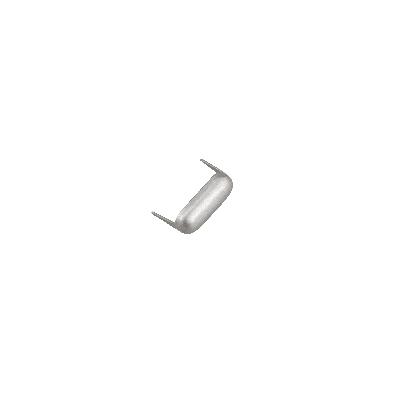IVAN 6.5x15mm橢圓造型爪釘(20/包)霧鎳色16826-02