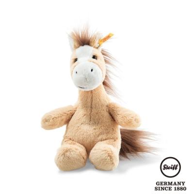STEIFF德國金耳釦泰迪熊  Hippity Horse 帥氣小馬兒 (動物王國) 18cm