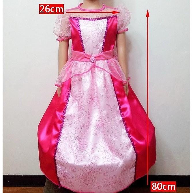 派對達人萬聖節服裝,萬聖節公主服裝,聖誕節,兒童變裝服-桃公主(台灣製造)