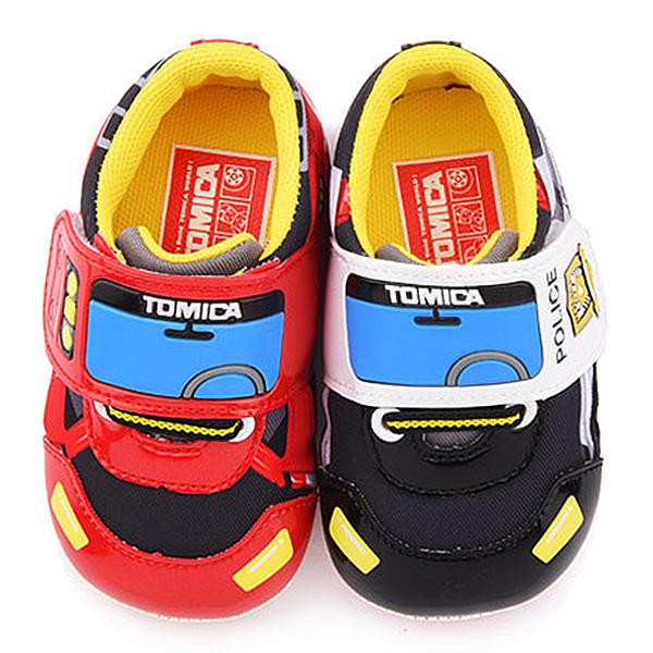 童鞋城堡-Tomica多美 小童 可愛帥氣寶寶鞋TM7781 黑/紅 (共二色)