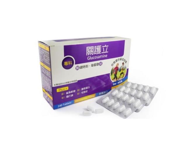 關護立葡萄糖胺膜衣錠240錠(大)