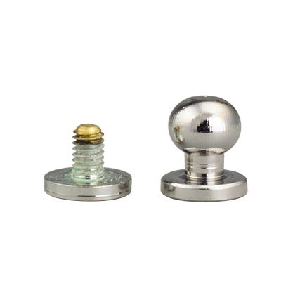 IVAN 6.7mm純銅螺絲式裝飾釘/鎳色11309-02