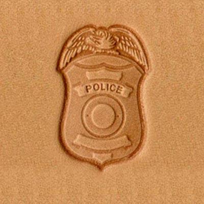 IVAN 警察徽章立體壓花模8595-00