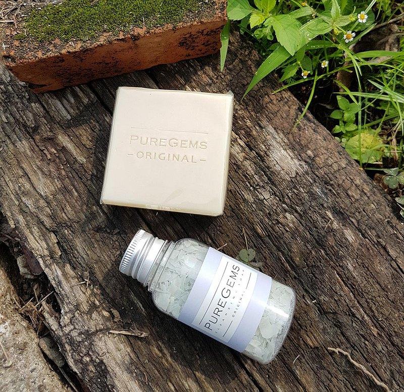 居家 外出玩 全清潔 清新牛樟皂  多彩礦泥隨身皂絲 手工皂 禮盒