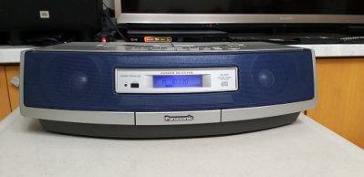 功能正常 整理好  國際牌 Panasonic RX-ED50 手提CD卡帶收錄音機 卡座 錄音座