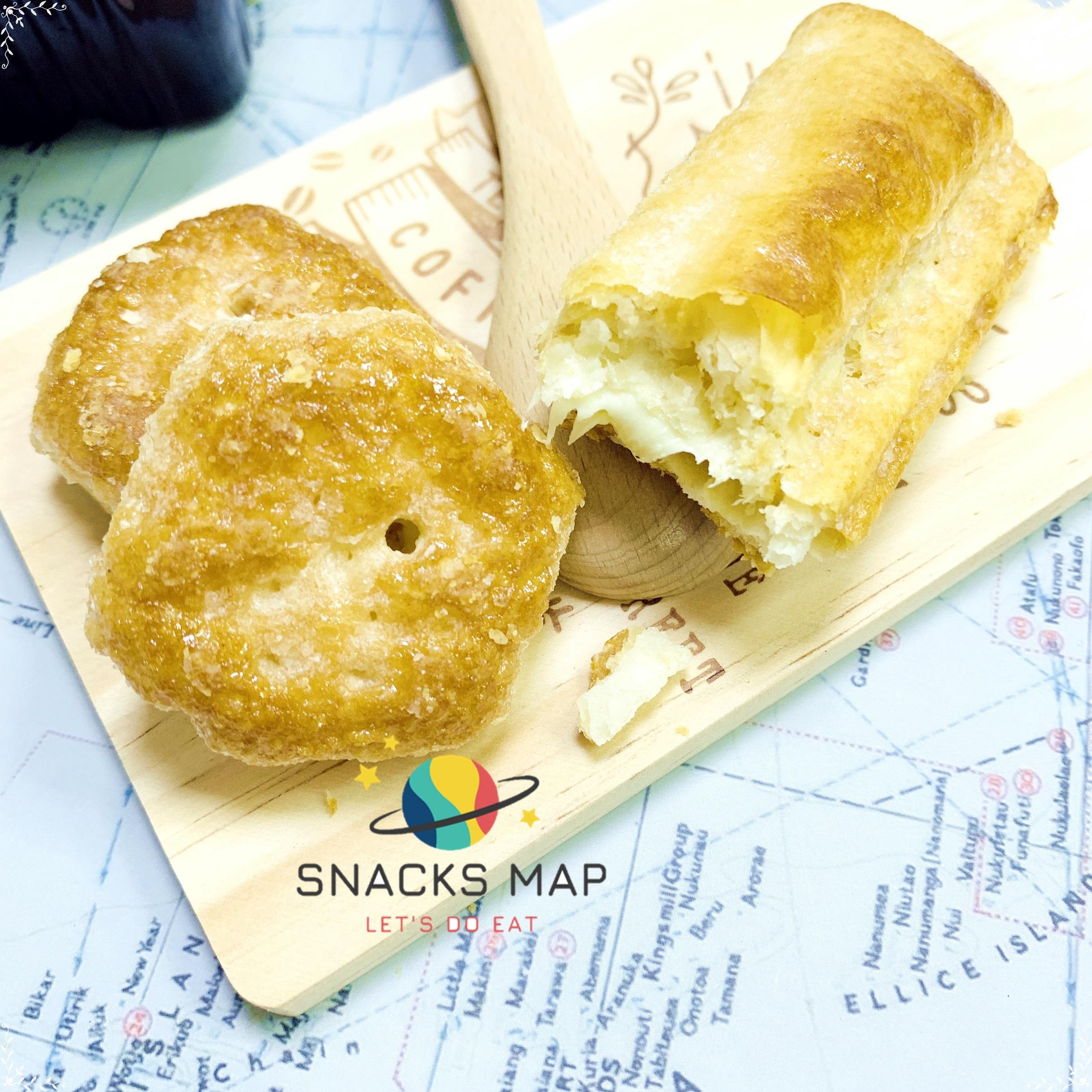 [SNACKS MAP零食地圖]義大利 維西尼 MINI千層酥 奶霜夾心酥餅 卡士達香草風味 榛果巧克力 奶素  全館399 超取免運