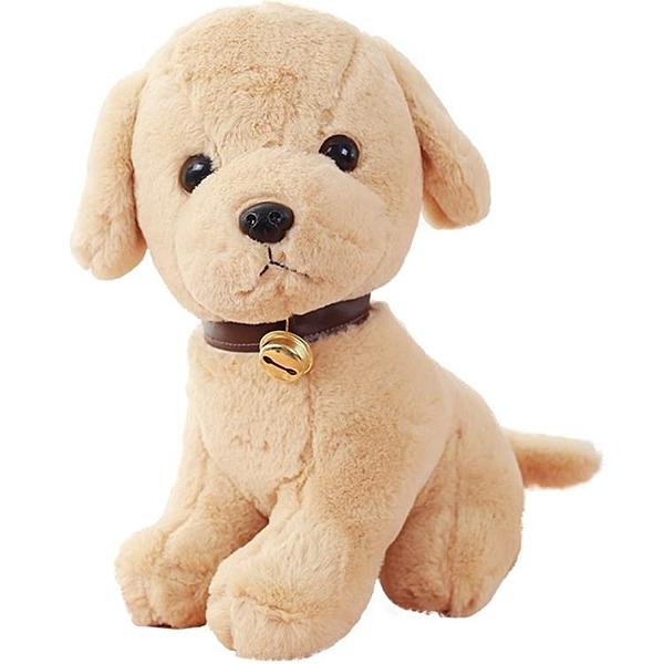 白男生可愛毛絨玩具狗公仔仿真布娃娃小狗狗小號兒童女孩玩偶動物 西城故事