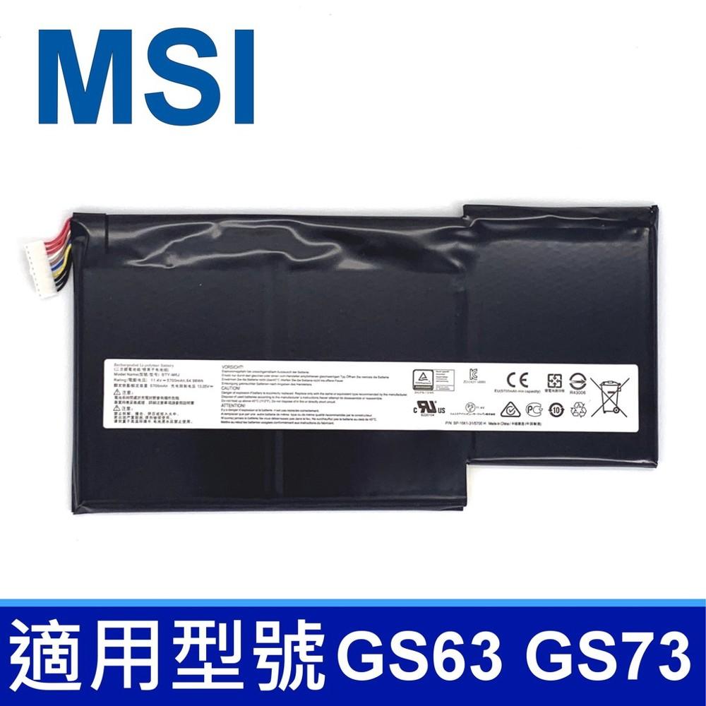 msi bty-m6j 3芯 原廠電池 gs63vr-7rf gs73 gs73-7re