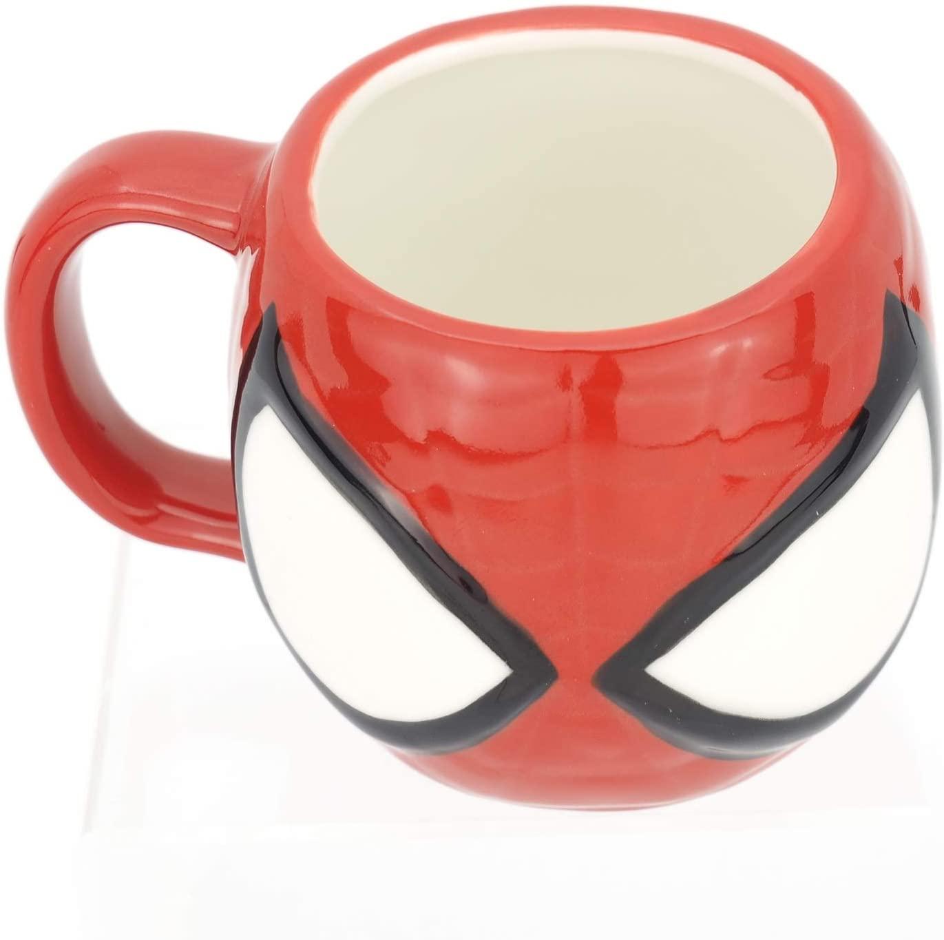 Marvel復仇者聯盟造型馬克杯270ml-蜘蛛人Spider-Man,水杯/馬克杯/杯瓶/茶具/玻璃杯/不鏽鋼杯,X射線【C248279】