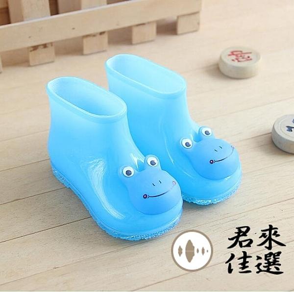會叫的兒童雨鞋男女童雨靴子寶寶水鞋叫叫鞋【君來佳選】