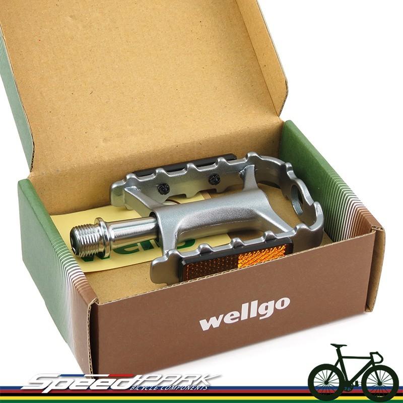速度公園維格 wellgo 鈦色 超輕量化設計 m111 培林鋁合金踏板 c-17 c17 進階