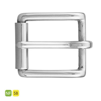 IVAN 25mm鎳色純銅帶扣11555-04
