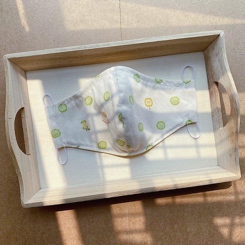 純手工日本布Hello Kitty 可放濾芯立體棉布口罩 (大/中/小碼)
