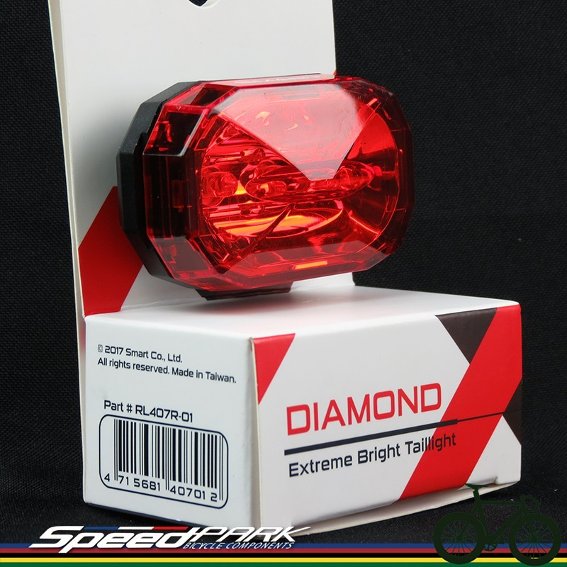 速度公園 smart diamond rl407r-01 後燈 尾燈 led ( 含aaa電池 )