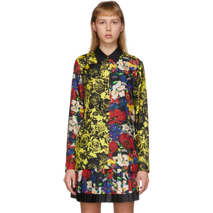 Versace SSENSE 独家发售多色 Floral 真丝女式衬衫