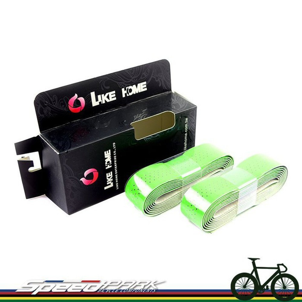 速度公園 like home racing bike tape 造型車手把 綠色 台灣製造 公路車